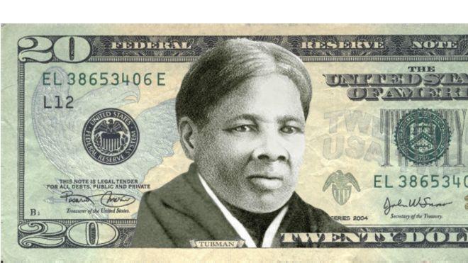 تصویر زن مبارز بردهداری روی اسکناس ۲۰ دلاری چاپ میشود