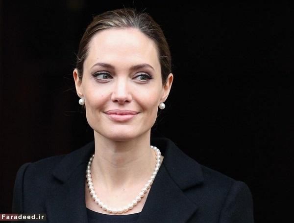 بازگشت آنجلینا جولی به بازیگری